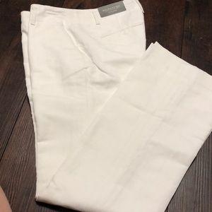 NWT Ann Taylor Linen Blend Trouser